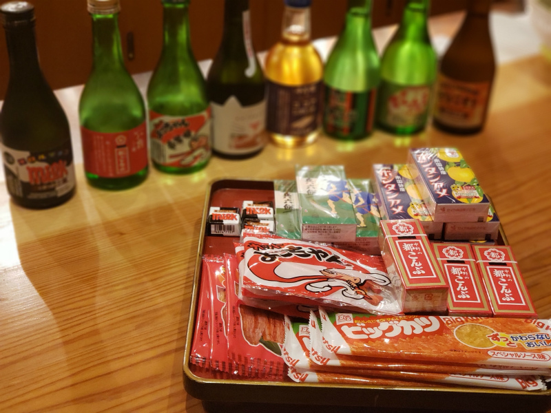 日本酒に合う 駄菓子セット 日本酒が駄菓子に寄せてきた!?