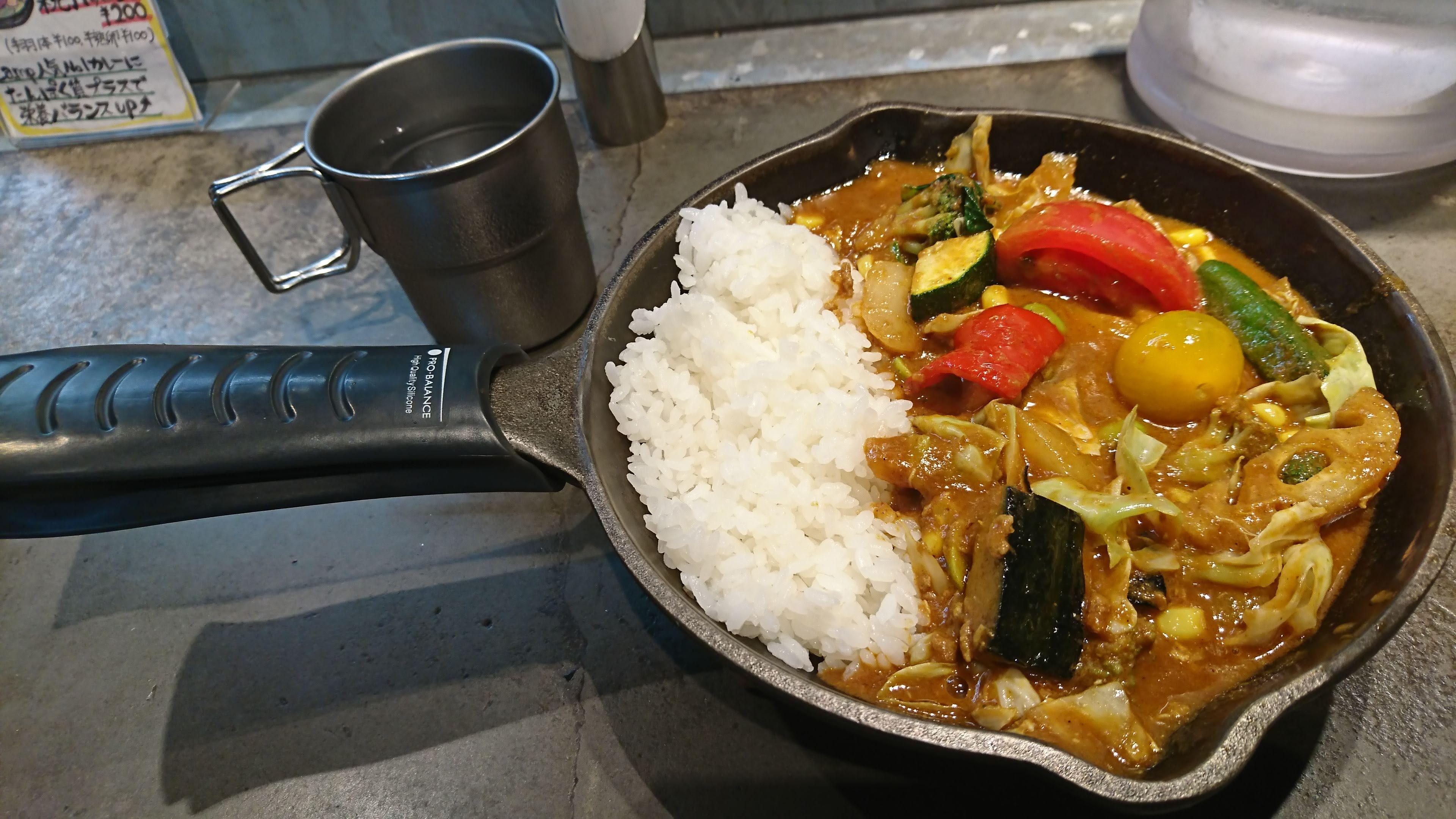 一日分の野菜 カレー