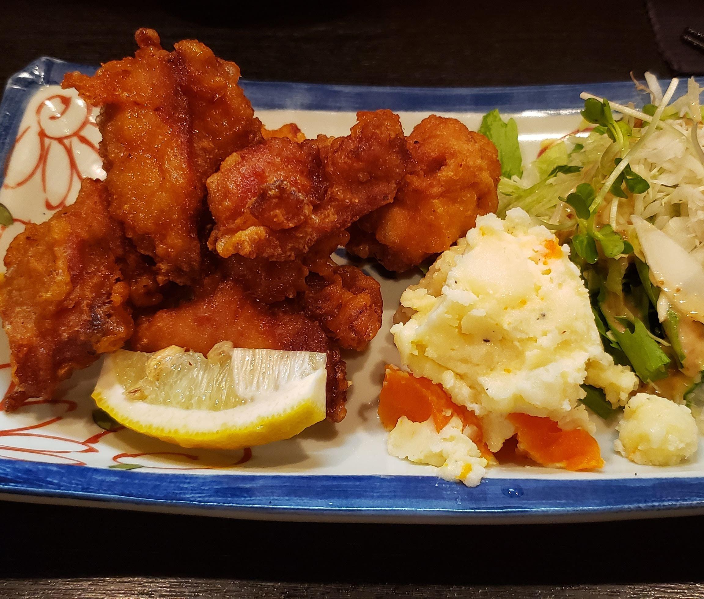 大井町にある 唐揚げが美味いお店 「手作り家庭料理 あおば 」